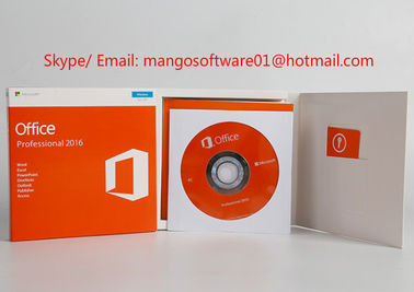 Original Office 2016 Professional License Key , Office 2016 Pro Plus DVD Packing Box