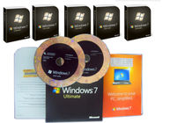 Chiny Microsoft Windows 7 Ultimate Edition, Windows 7 Ultimate Pack OEM dla obszaru globalnego fabryka